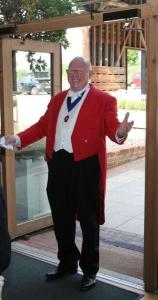 Toastmaster Ted Prior